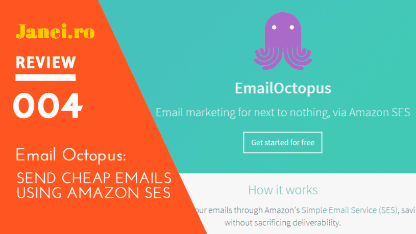 Email Octopus Review | Janeiro