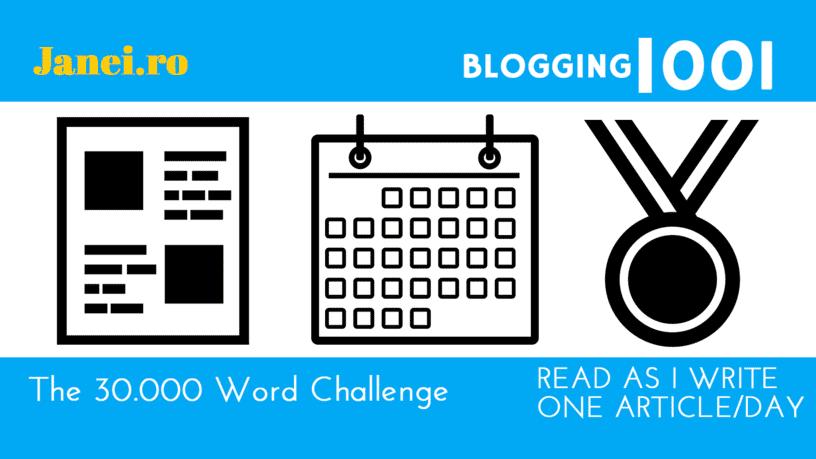 Janeiro-30000WordChallenge-Blogging